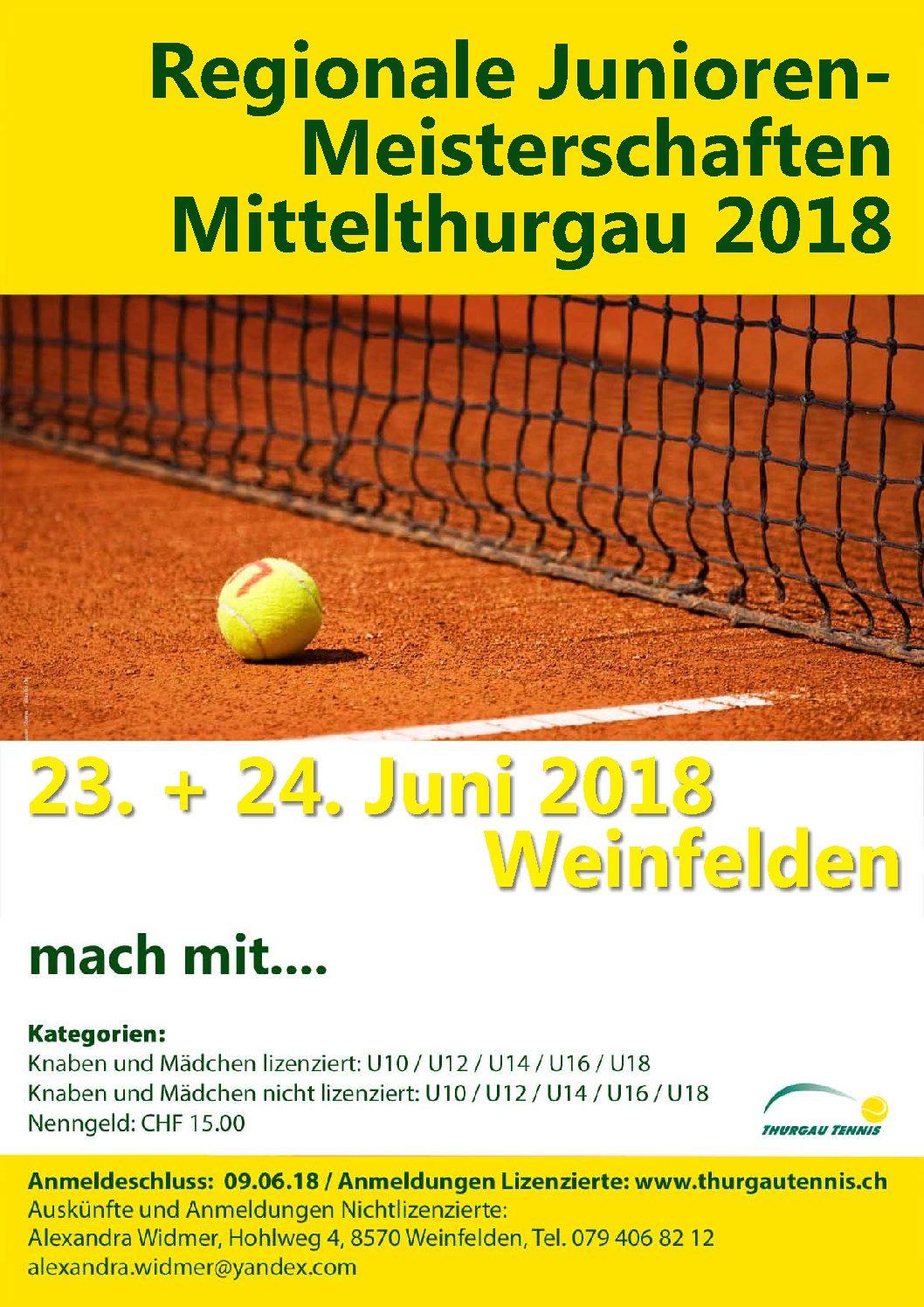 Regionale Junioren Meisterschaften Mittelthurgau