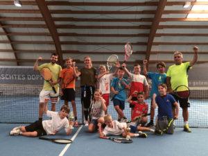 Foto Jugend Tennis Camp 2018